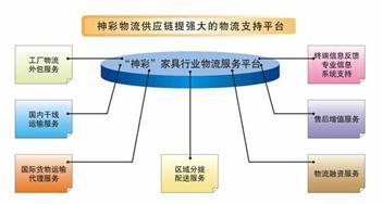 神彩物流的第三方物流外包运作模式